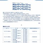 オルメテック錠一部規格の販売中止(第一三共HPには載ってないけど・・・)