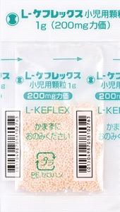 L ケフレックス小児用顆粒 日局 剤形写真 包装