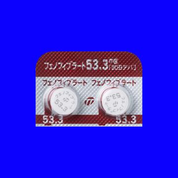 1106 Fenofibrate tab 53 3mg TT 21