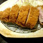 とんかつ勝(横須賀)で厚切りロースとんかつを食す